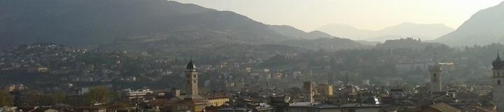 Panorama dal tetto della torre del Molino Vittoria - Trento